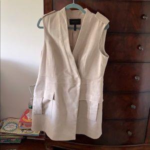NWOT BCNGMAXAZRIA beige sizeL dress/vest